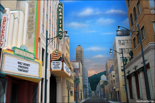 Hollywood Boulevard mural