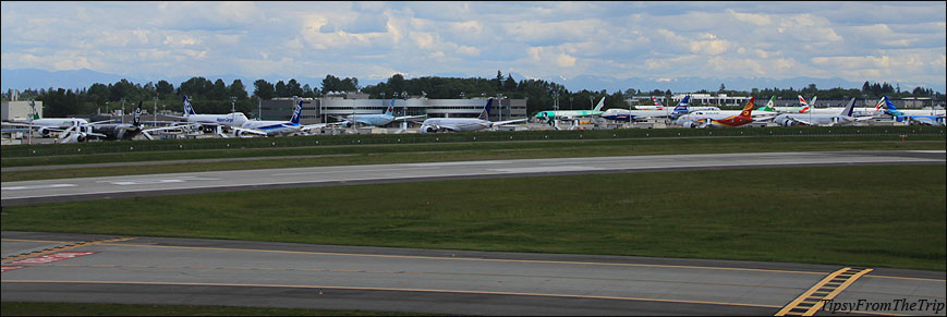 Paine Field airport, WA