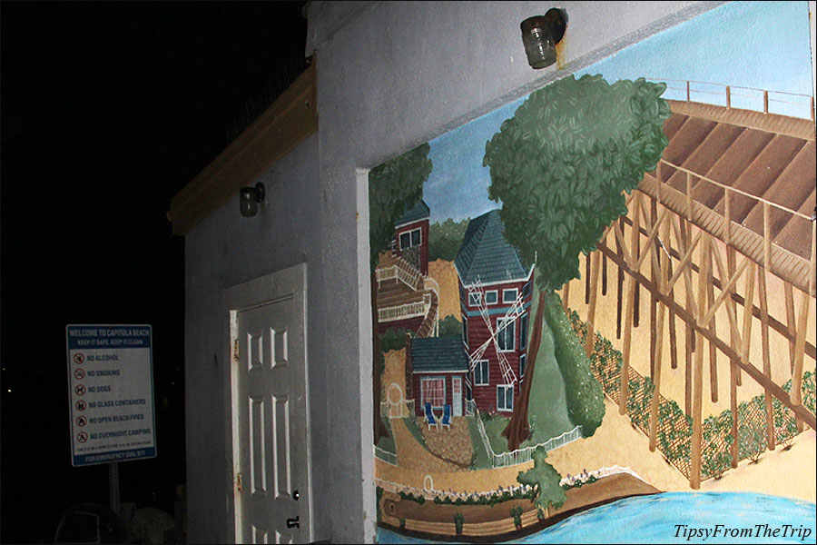 Capitola Mural by Beth Cleventine.