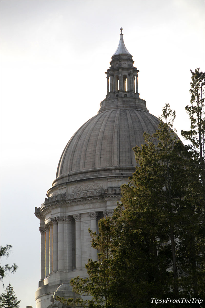 The dome, Washington State Capitol, Olympia