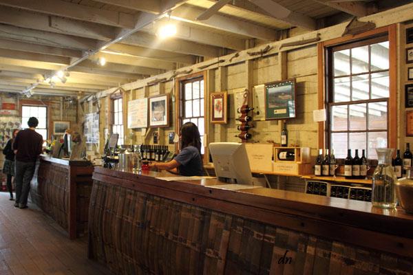 Cooper Garrod - wine-tasting room