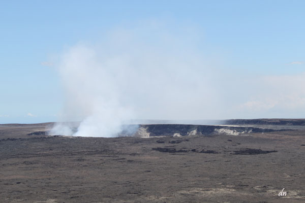 Volcano tour: The Kilauea Caldera and the steaming Halema'uma'a Crater