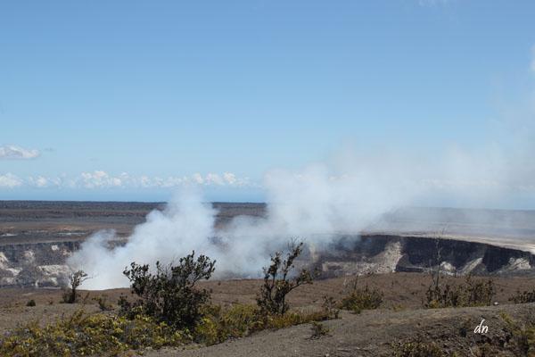 Volcano tour: Halema'uma'a Crater
