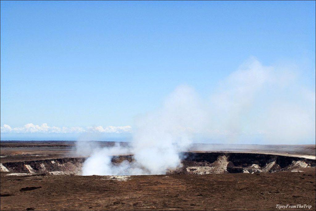 Volcanic site: Kilauea caldera