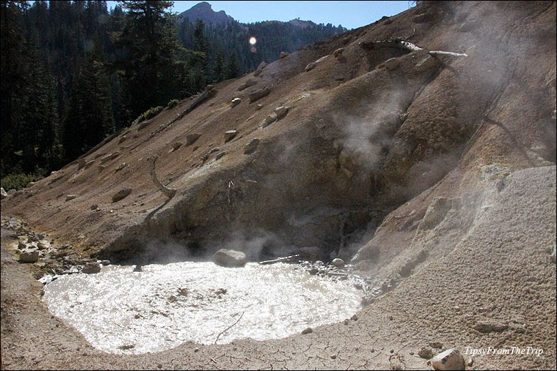 Volcanic site - Mud pot - Lassen
