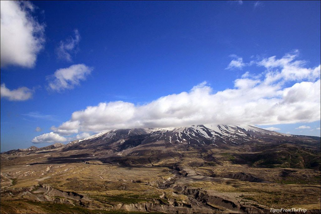 volcanic site - mt helens