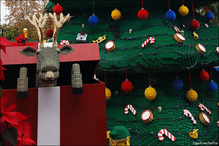 Legoland at Christmas time