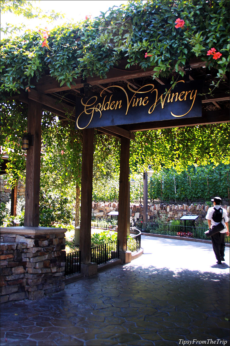 Disney California Adventure Park - Winery