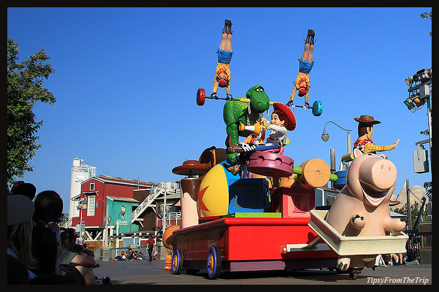 Toy Story, Pixar Play Parade, Anaheim, CA.
