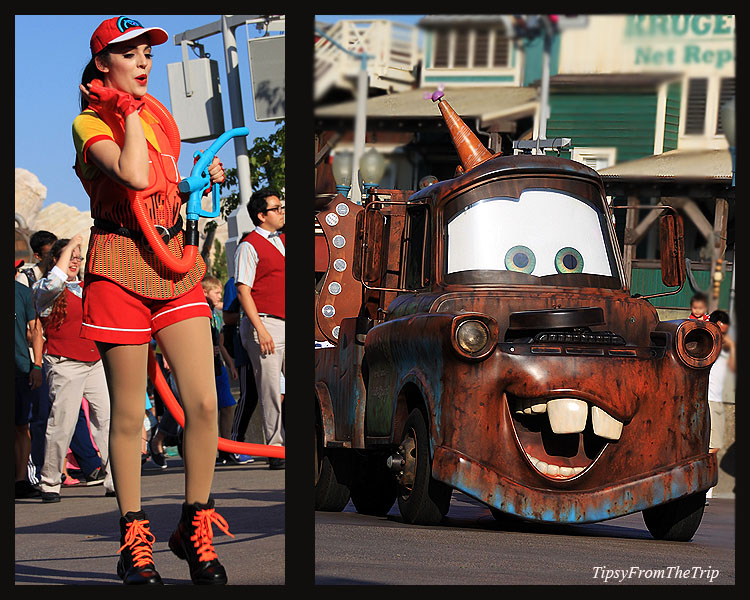 Tow Mater, Pixar Play Parade -2016, DCA