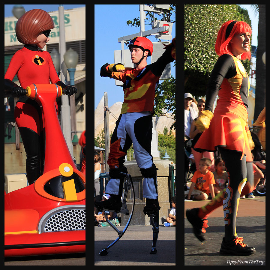 The Incredibles Pixar Play Parade -2016, DCA