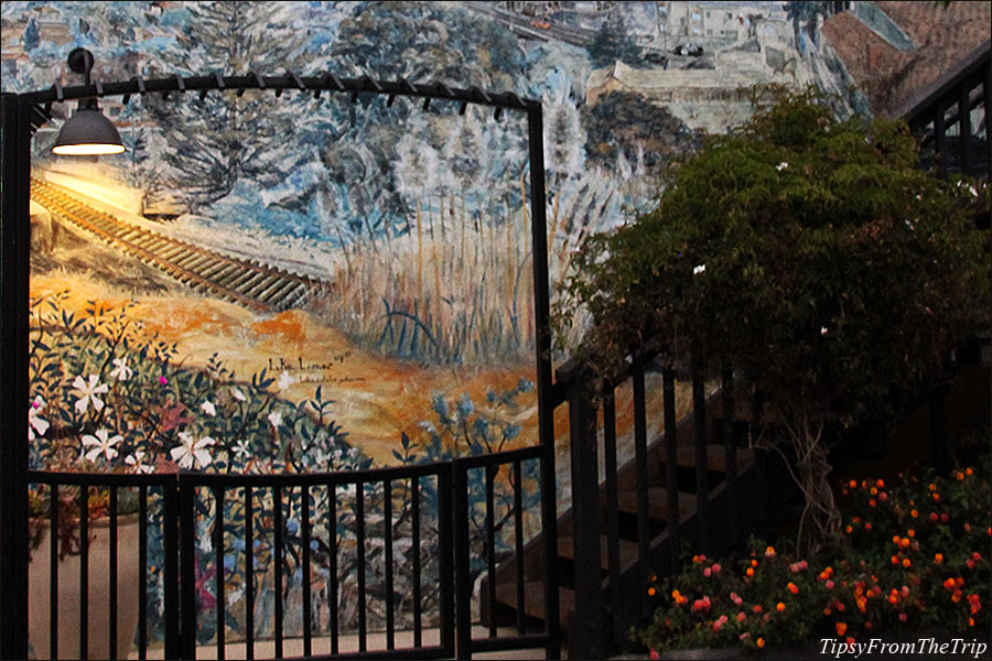 Capitola Mural by Luke Lamar, Capitola, CA.
