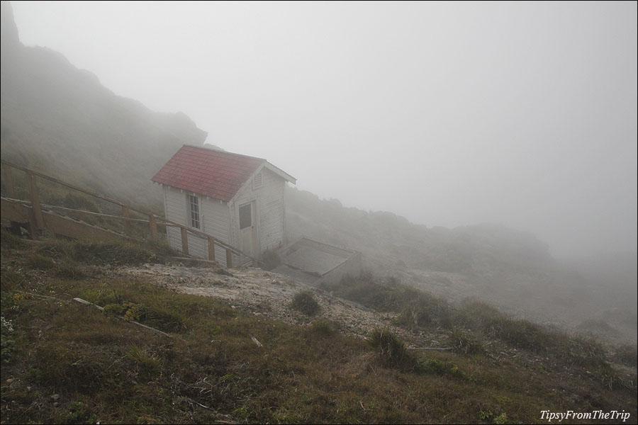 Fog at Point Reyes