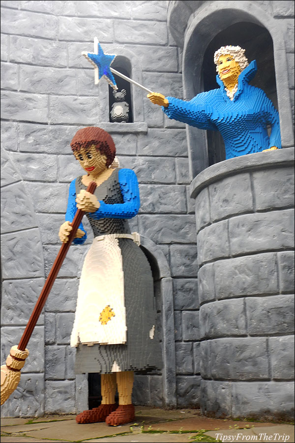 Cinderella and the Fairy Godmother, Legoland, CA