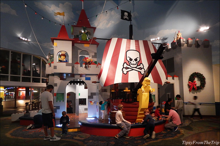 Play area at the Legoland Hotel.
