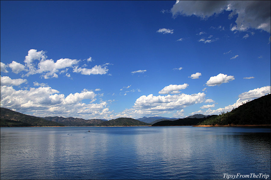 Shasta Lake from Fisherman's Point