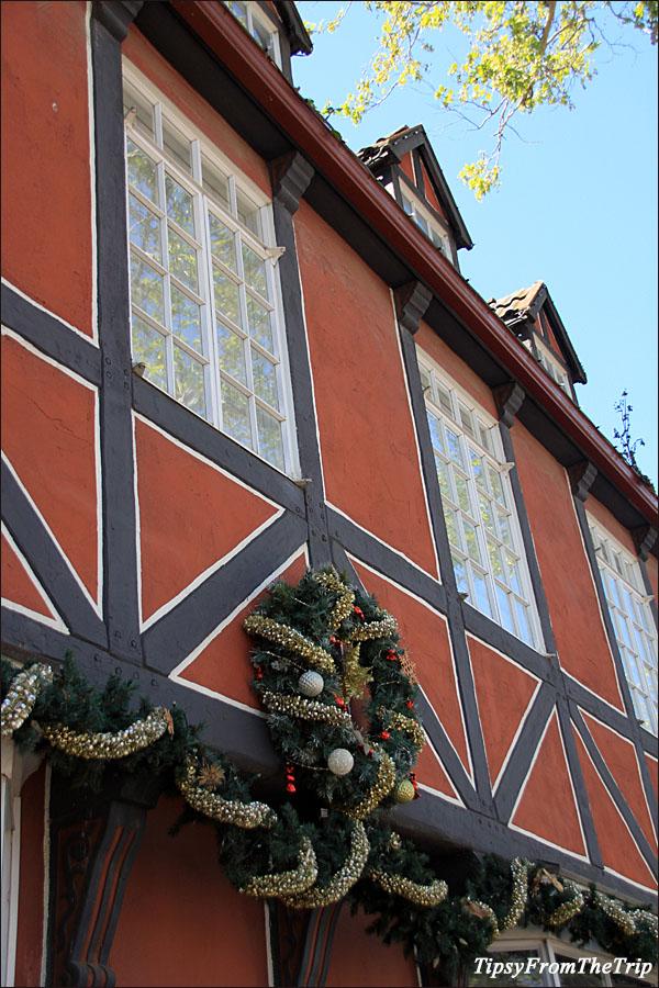 Christmas store at Solvang - Danish town in CA