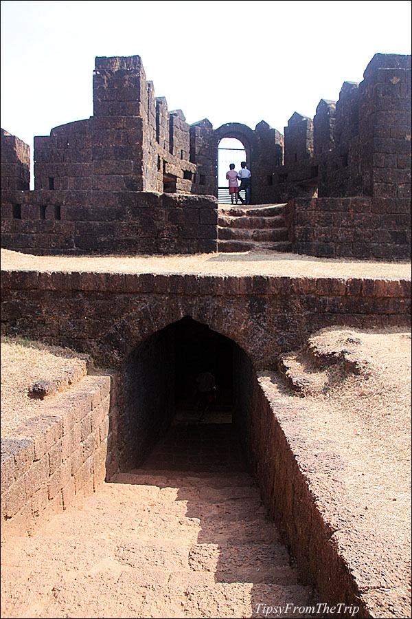 Inside Mirjan Fort