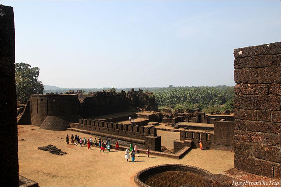 Inside Mirjan Fort, Kumta, Karnataka.
