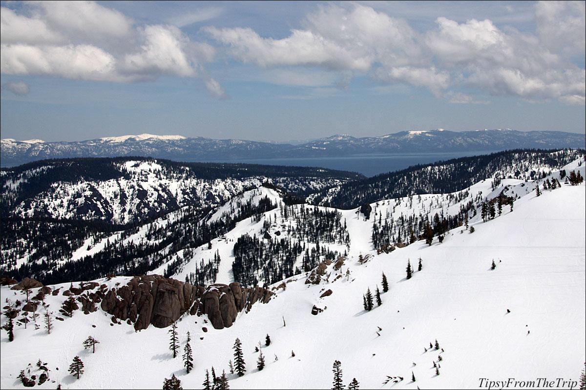 Lake Tahoe from Squaw Valley Ski Resort