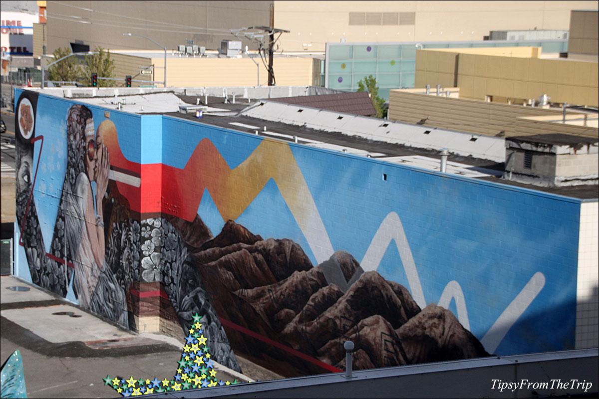 Daydream mural, Reno, NV