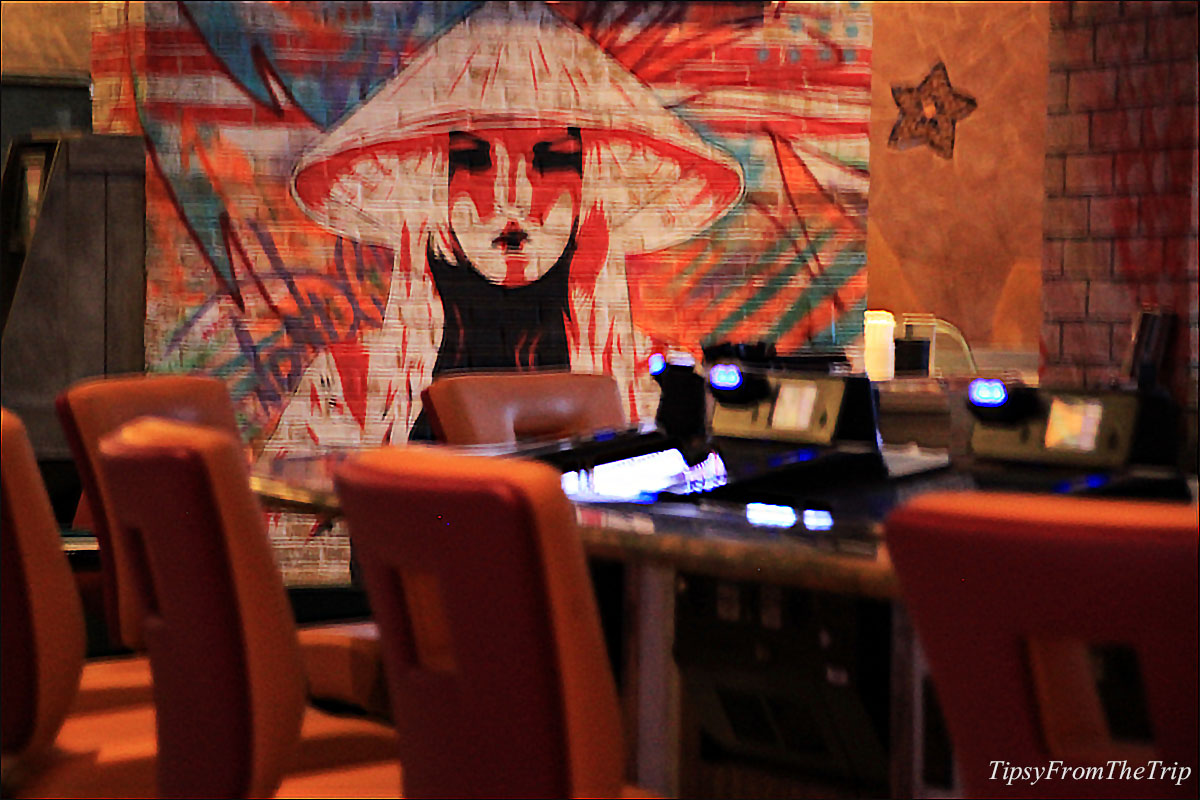 Painting, Kanpai sushi restaurant, Reno