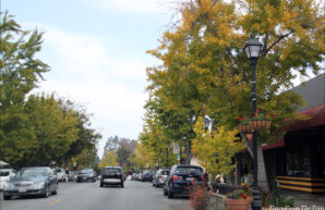 Saratoga Village in Fall