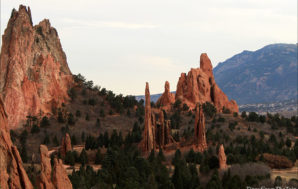 Sculpted by nature: A Red-Rock Garden for the Gods