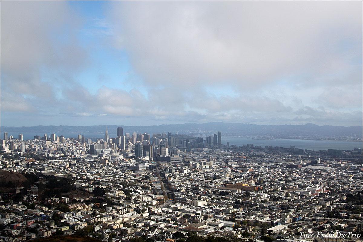 Twin Peak view of San Francisco