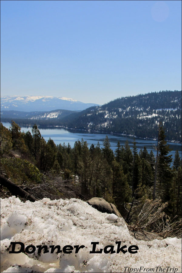 Donner Lake viewpoint, I-80