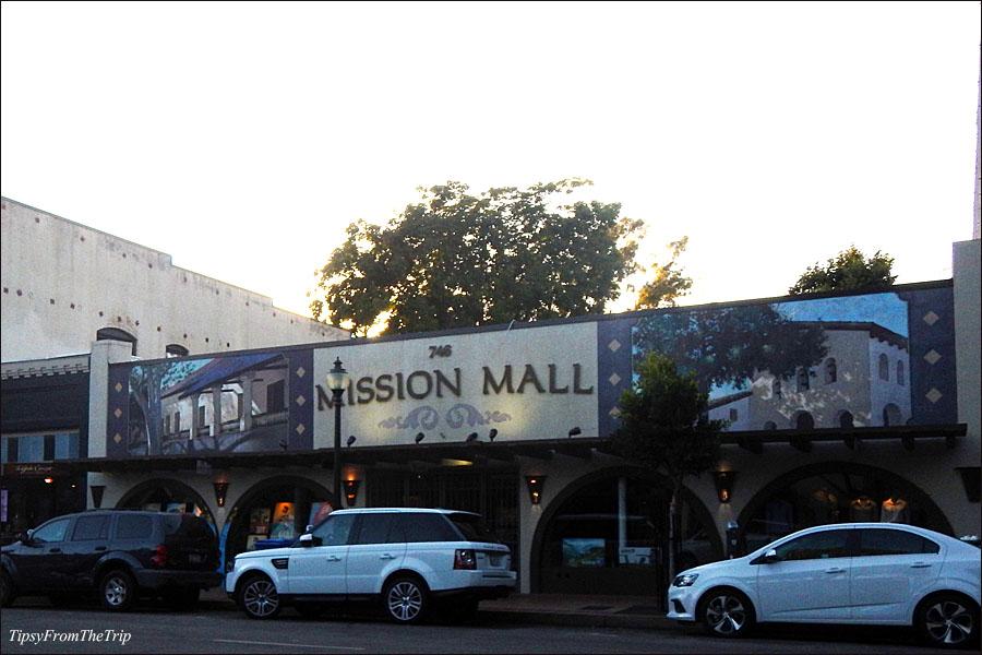 Mission Murals: Mural of Mission San Luis Obispo de Tolosa, SLO