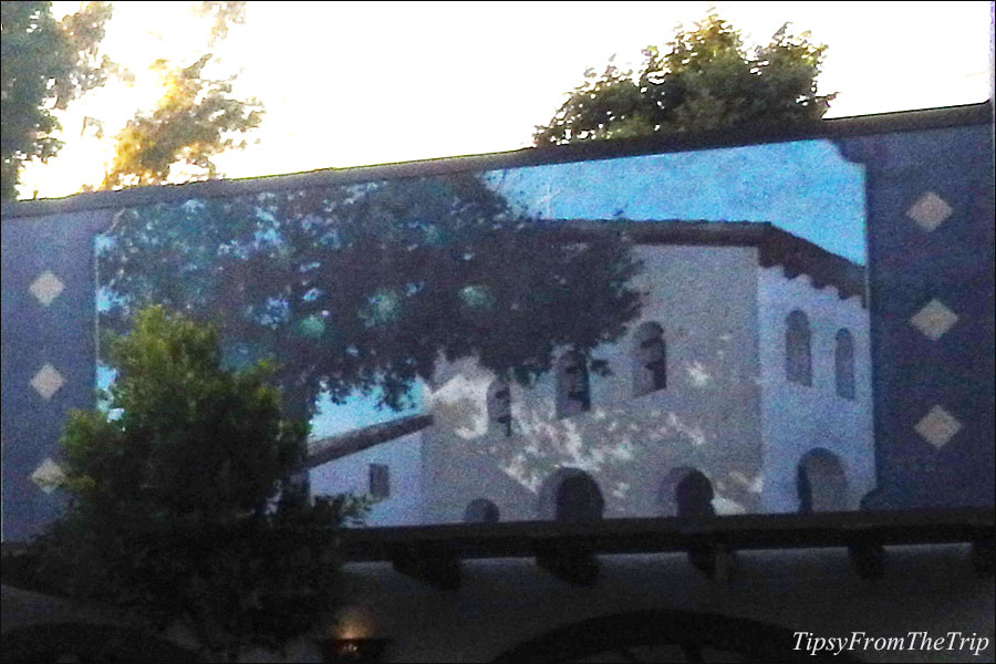 Mural of Mission San Luis Obispo de Tolosa, SLO