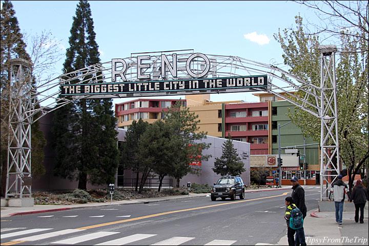 Old Reno sign, Reno, Nevada.