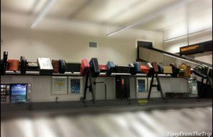 luggage installation art