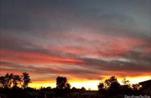 Sunset sky, Grand Canyon Village