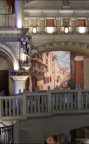 Grand Canal mural, The Venetian.