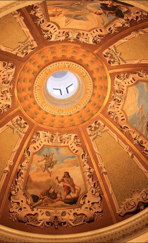 Italian Frescoes at The Venetian, Las Vegas.
