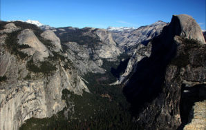 Up high: Washburn Point and Glacier Point